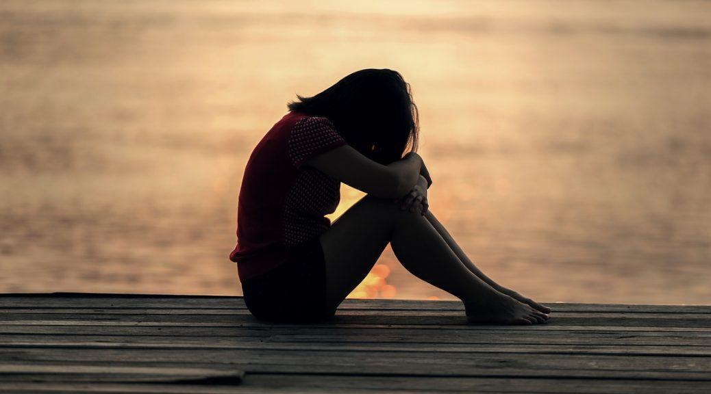 verdriet vrouw